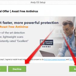 Install Avast antivirus