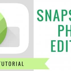 Snapseed Google photo editing app
