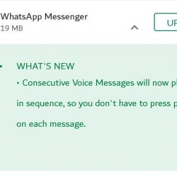 Install WhatsApp new version