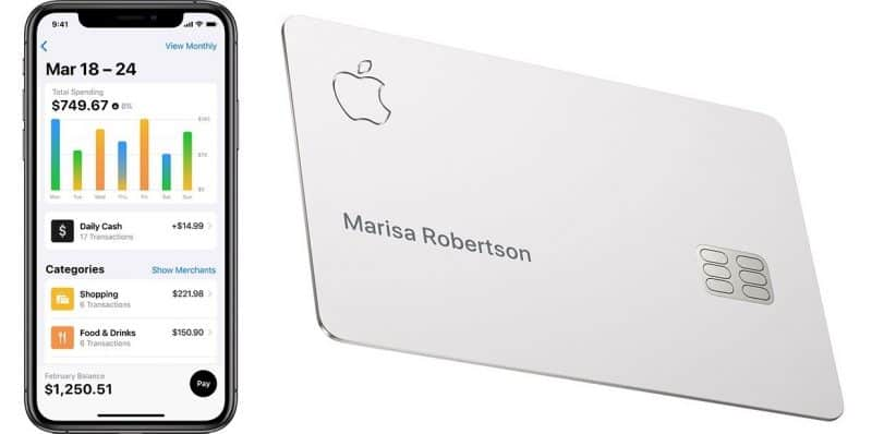 Add Bank account to Apple card
