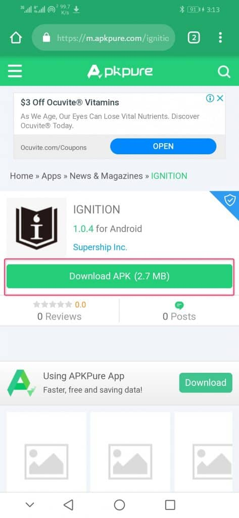 Download Ignition APK
