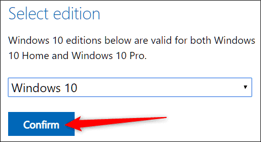 Windows 10 ISO Edition