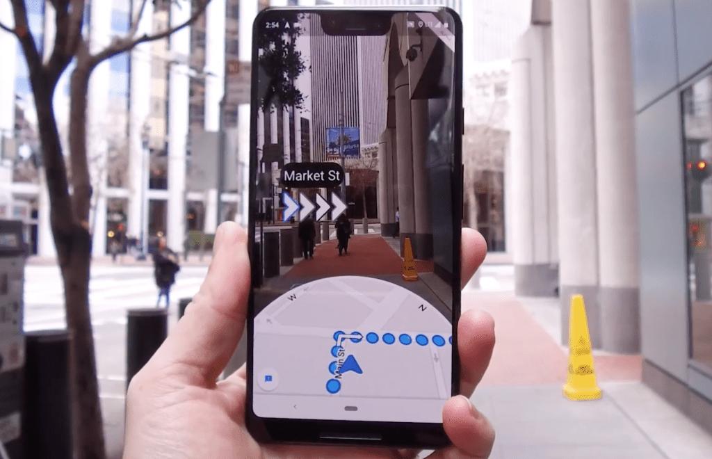 Access Google Map AR