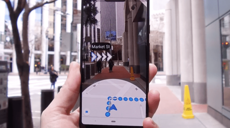 How to Access Google Maps AR on Android & iOS - Gadgets Wright