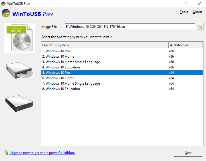 How to Use WintoUSB Portable tool