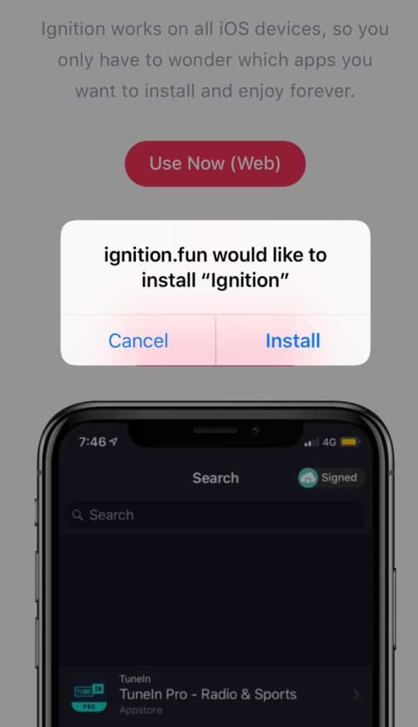 Install Ignition