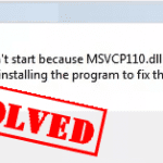 How to Fix MSVCR110.dll not Found on Windows 7/8/10