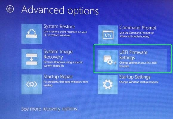 UEFI Windows Firmware