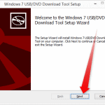 How to Download and Use Windows USB/DVD Download Tool to create a Bootable USB/DVD using Windows ISO file