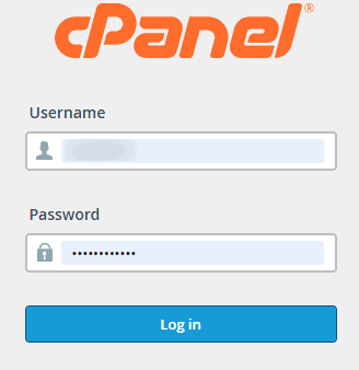 Login WordPress cPanel