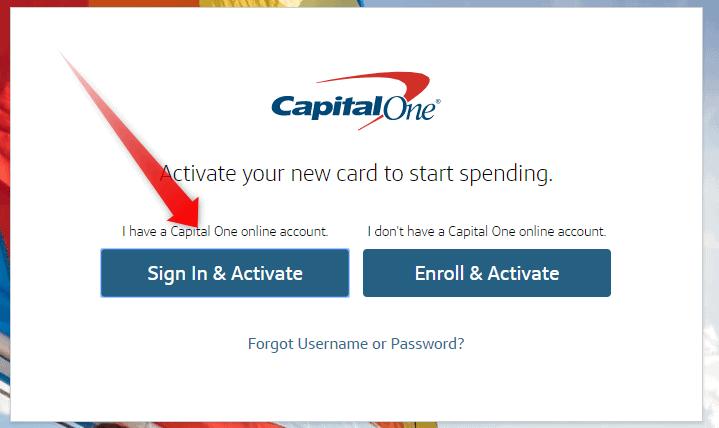 Capitalone.com/activate