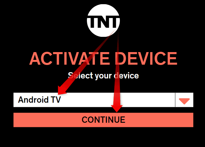 TnTdrama.com activate Android TV