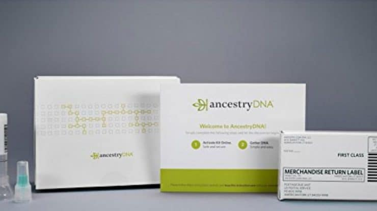 Ancestry DNA kits