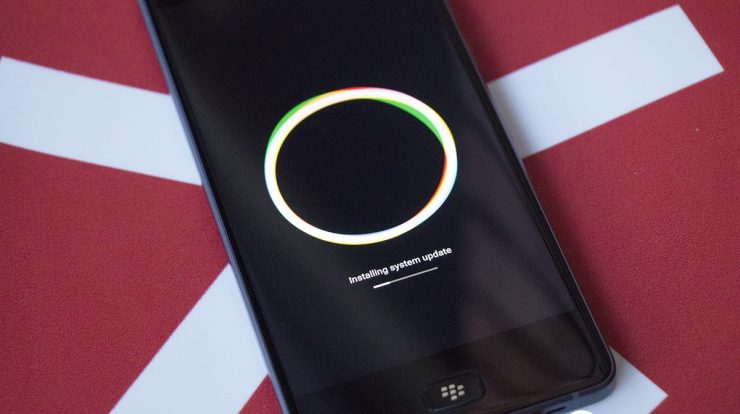 BlackBerry Motion ACD519 Software Update
