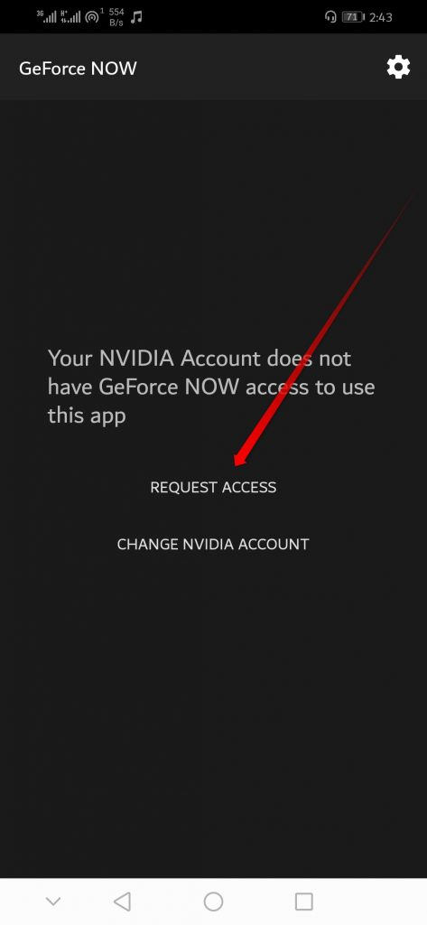 Request Access or Change NVIDIA Account