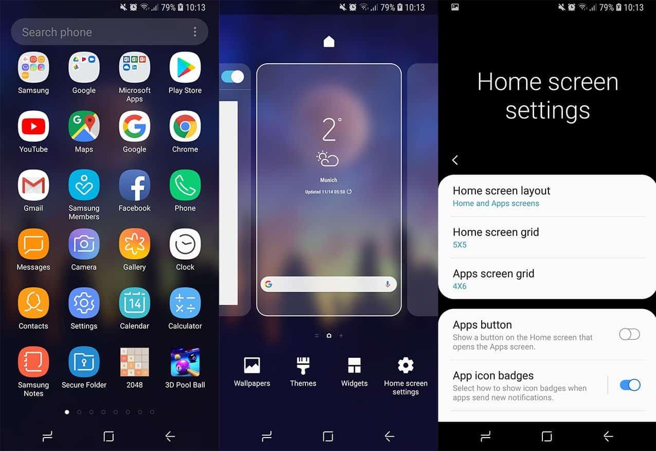 Samsung Launcher UI One APK