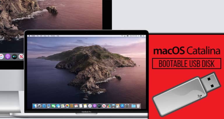 macOS Catalina 10.15 bootable