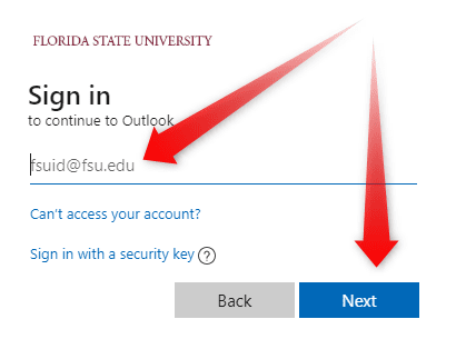 MyFSU Webmail Employee Login