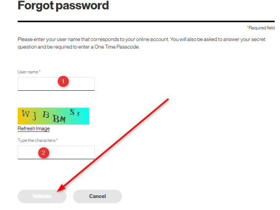 Verizon Business Password