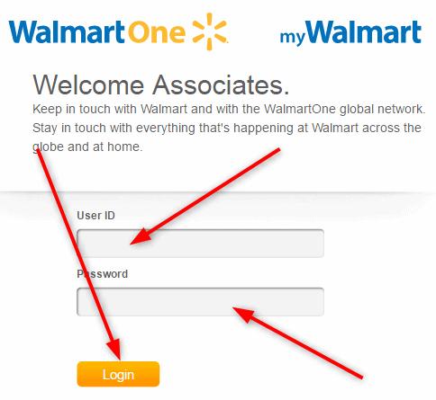 Login Walmartone