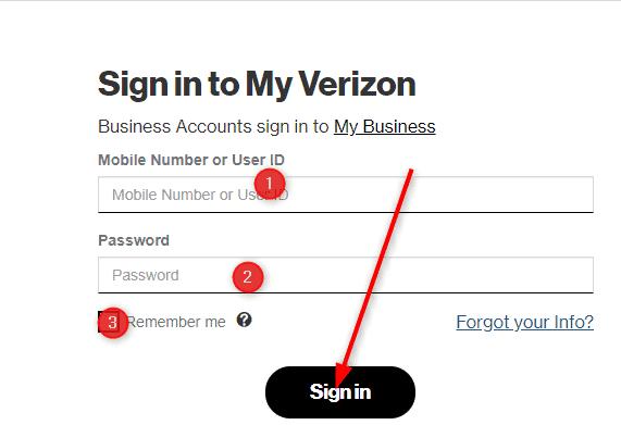 My Verizon Login