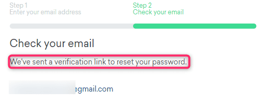 Reset Password on creditkarma.ca