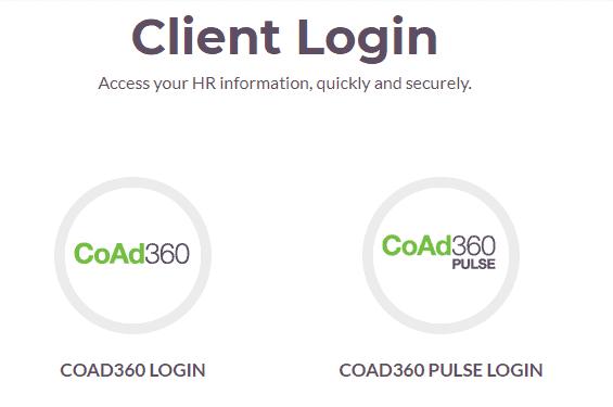CoAd360 employee login