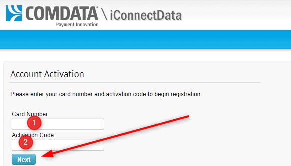 Comdata activation code