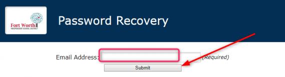 FWISD password recovery
