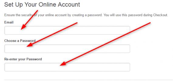 Create Fingerhut Account