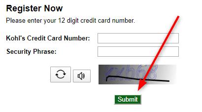 Activate Kohls Credit Card