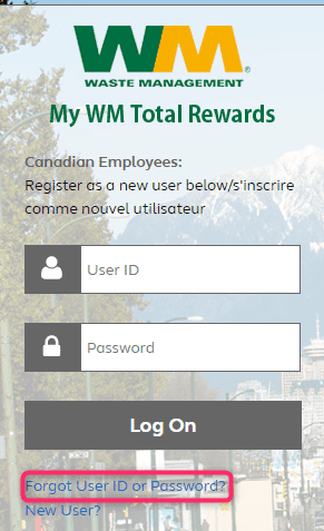 mywmtotalrewards password reset