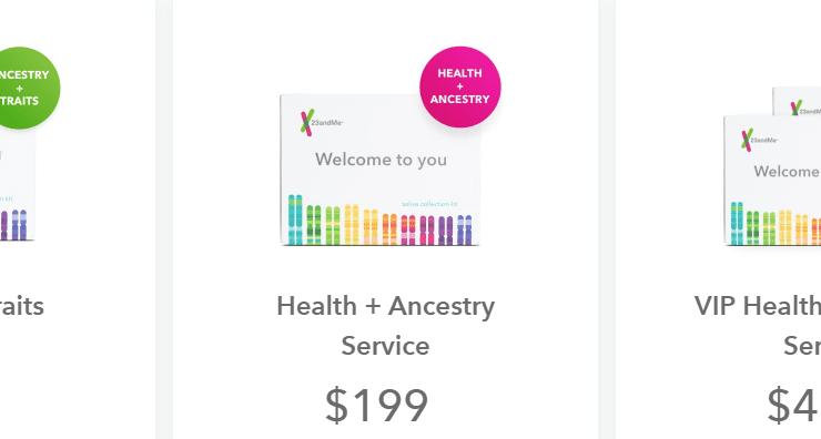 23andMe login