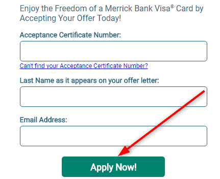Merrickbank.com/activate