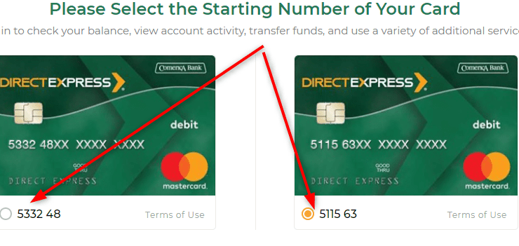 Direct Express Login