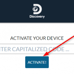 Discovery.com/activate