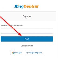 RingCentral Login