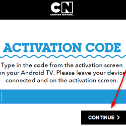 Cartoonnetwork.com/activate
