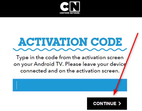 Cartoonnetwork.com/activate