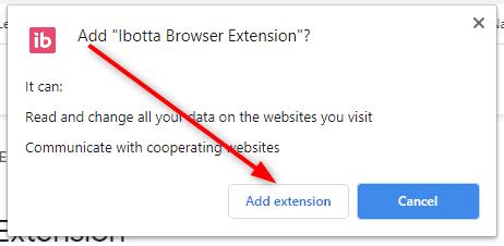 Add Ibotta to Chrome