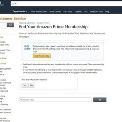 How to End Amazon Prime Membership