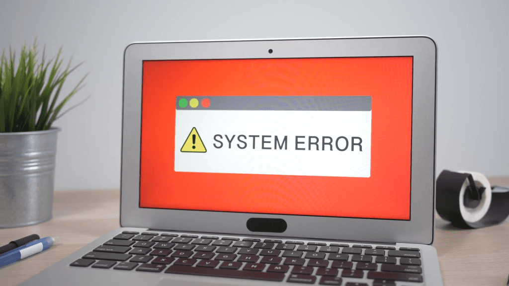 Common-Error-Messages-for-a-laptop