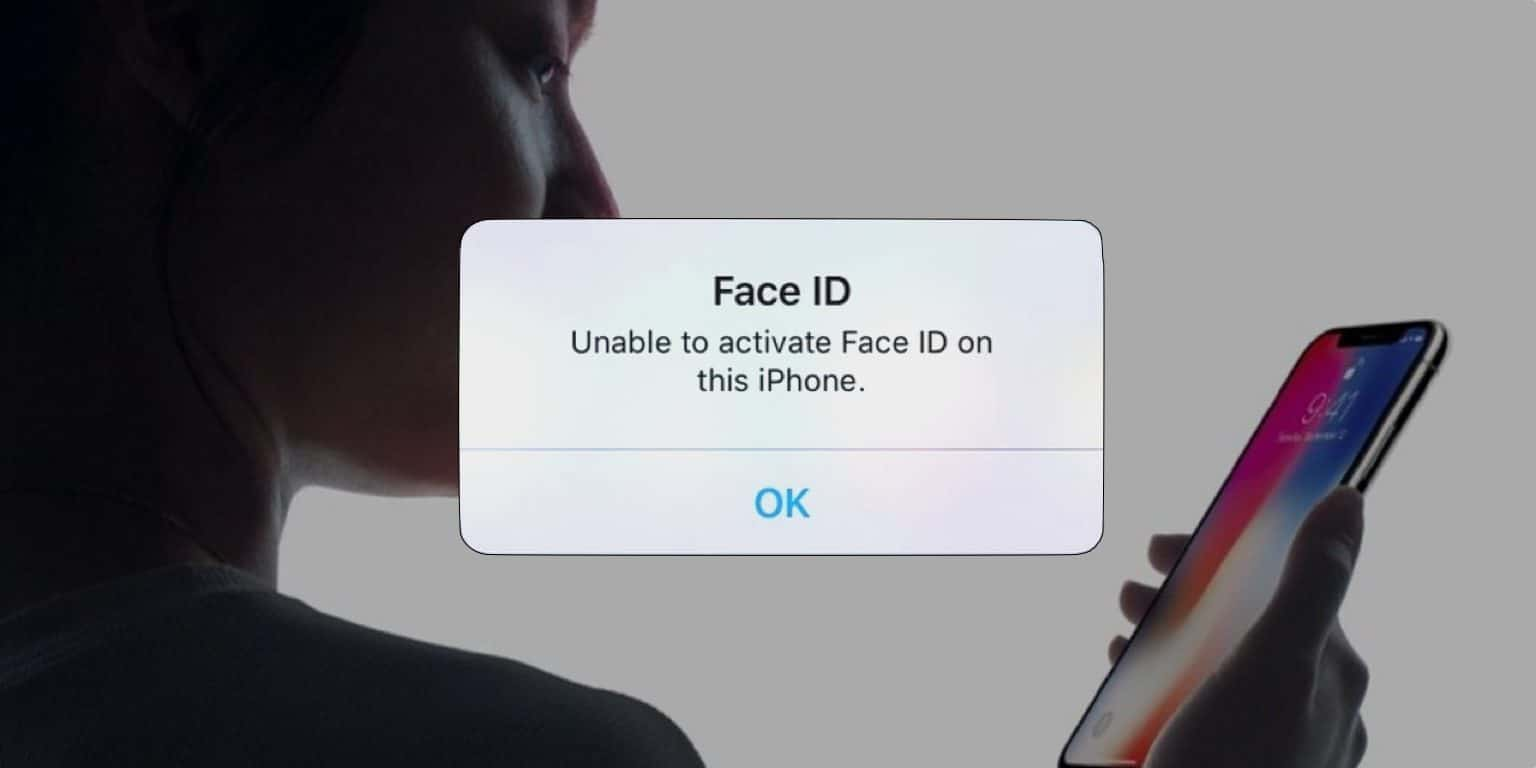 Face ID not working on iPhone X, XR, 11, and XR Max