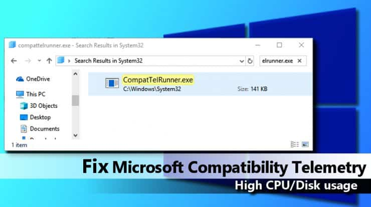 How to disable Microsoft compatibility telemetry