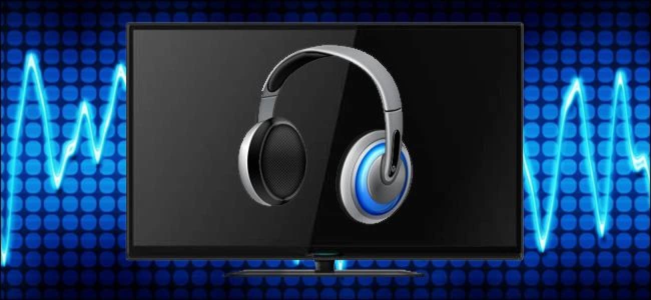 Listen to TV with Your Headphones