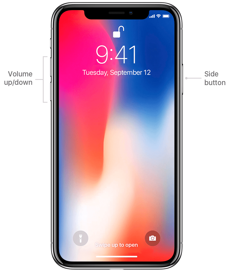 How To Restart Your iPhone X Without Using the Screen