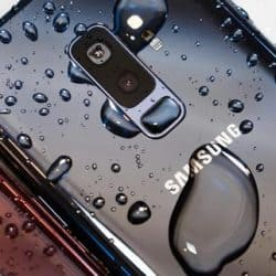 is the Samsung Galaxy S9 Waterproof