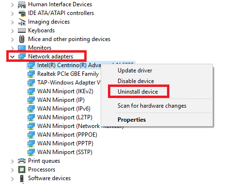 Fix windows WiFi issues