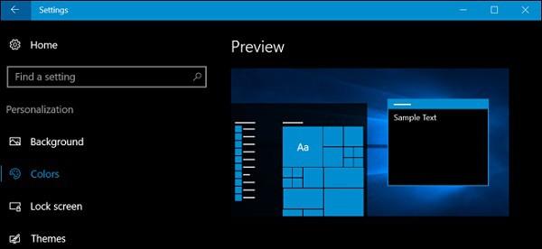 How To Enable Windows 10 Dark Mode