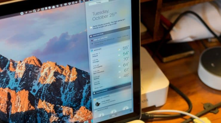 How to Add Notification Center Widget on Mac